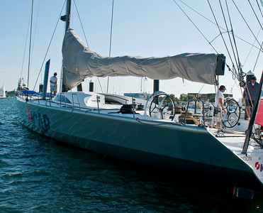 ICAP Leopard 3 prior to departure for transatlantic record attempt