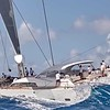 "Vitters Shipyard S/Y ""Unfurled"" racing at Saint Barth Bucket"