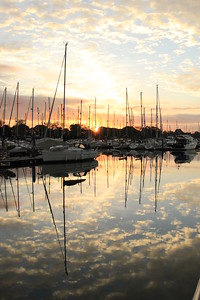 Sunrise, Chichester Marina