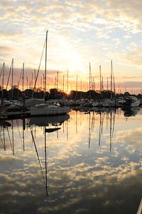 Sunrise, Chichester Marina