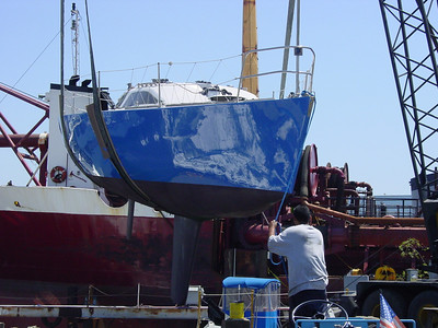Azzurra launching February 20, 2004