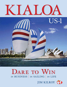 Jim Kilroy's new book, Kialoa US-1 Dare to win.  http://www.kialoa-us1.com/Pages/default.aspx