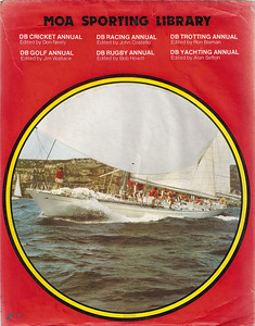 1978 DB Yachting Annual. Kialoa on the back cover