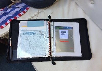 Binder with documentation