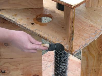 Yacolt Nest Platform Construction 1