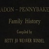 "Video Archive Clip 1990 (Aug) - Yaden, Daniel C. Sr. - ""Yadon-Pennybaker Family History"" - Introduction of Book (5 min 40 sec)"
