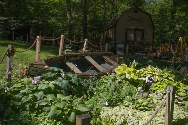 The Boat Garden  and Tool Shed