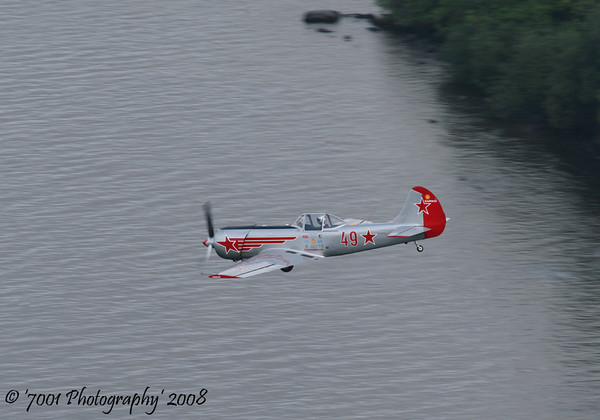 '49', Yak 50 - 26th July 2008.
