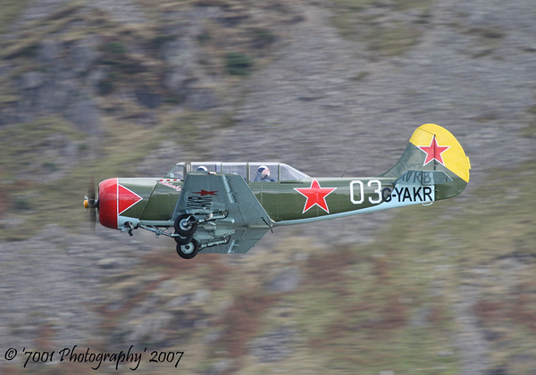 G-YAKR/'03' Yak 52 - 17th October 2007.