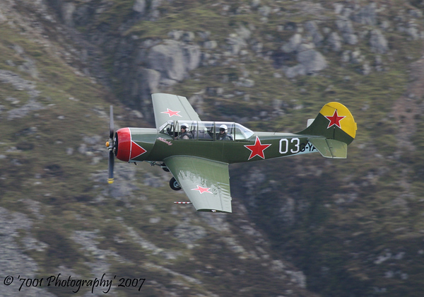 G-YAKR/'03' Yak 52 - 17th October 2007.