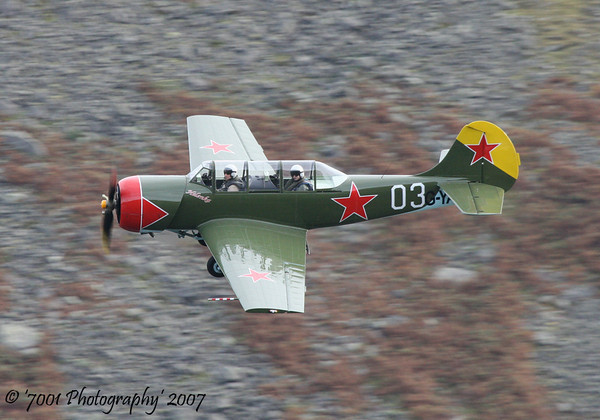 G-YAKR/'03' Yak 52 - 18th October 2007.