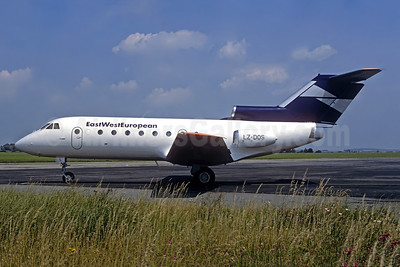 East West European Yakovlev Yak-40 LZ-DOS (msn 9231423) PRG (Christian Volpati Collection). Image: 952114.