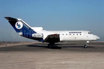 Georgian Airlines Yakovlev Yak-40 4L-AVD (msn 9430537) SHJ (Christian Volpati Collection). Image: 952795