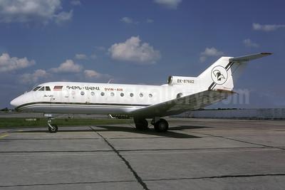 Dvin-Air (Dvin-Avia) Yakovlev Yak-40 EK-87662 (msn 9240625) KBP (Rolf Wallner). Image: 952229.