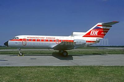 Ceskoslovenske Aerolinie-CSA (Czech Airlines) Yakovlev Yak-40K OK-GEL (msn 9640651) PRG (Christian Volpati Collection). Image: 934756.
