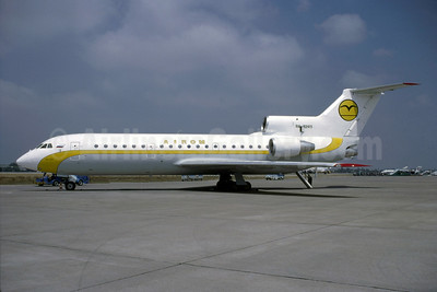 AiRom (Air Romania) Yakovlev Yak-42D RA-42411 (msn 4520421219043) (Bruce Drum Collection). Image: 951106.