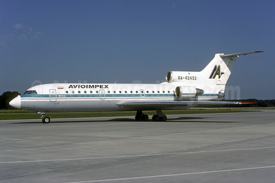 Avioimpex Yakovlev Yak-42 RA-42432 (msn 4520424410016) ZRH (Rolf Wallner). Image: 941083.