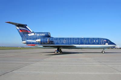 RusAir Yakovlev Yak-42D RA-42402 (msn 4520422116583) SVO (Keith Burton). Image: 951323.