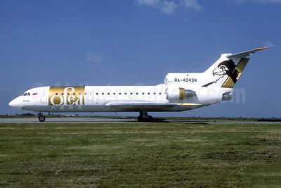 Orel Avia Airlines Yakovlev Yak-42D RA-42434 (msn 4520424305017) CDG (Christian Volpati). Image: 952846.