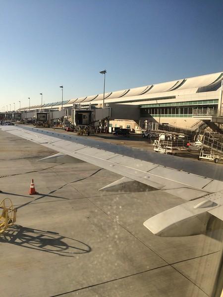 Leaving San Jose for Alaska.