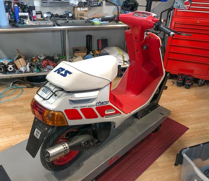 Yamaha Champ -  (1)