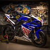 Yamaha R1 Limited Edition Rossi - Featured