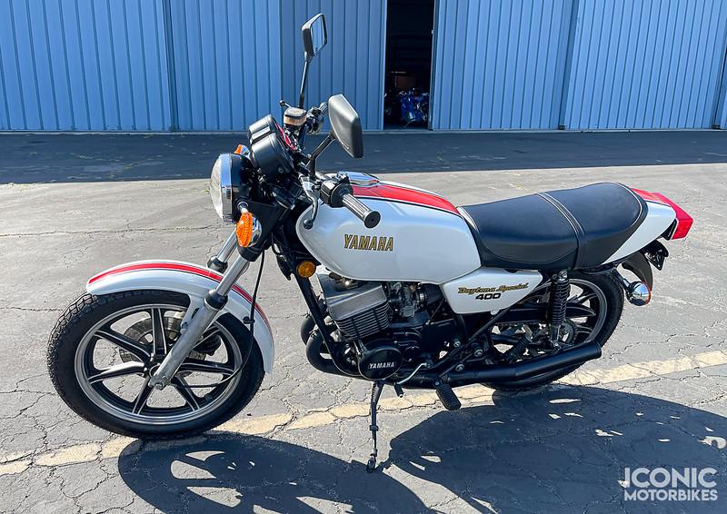 Yamaha RD400F Daytona Special -  (10)