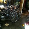 Winter '17/'18. Lots of Yamaha enduros in the garage.