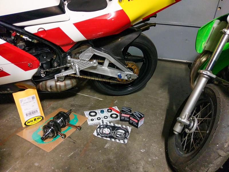 Yamaha RZ350RR Extras -  (46)