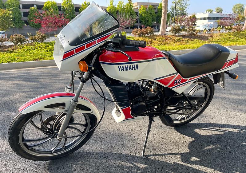 Yamaha RZ50 -  (1)