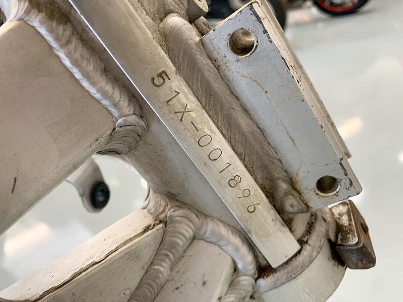 Yamaha RZV Frame #1896 -  (3)