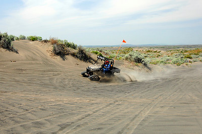TJD Tracks at the Moses Lake Sand Dunes May 07