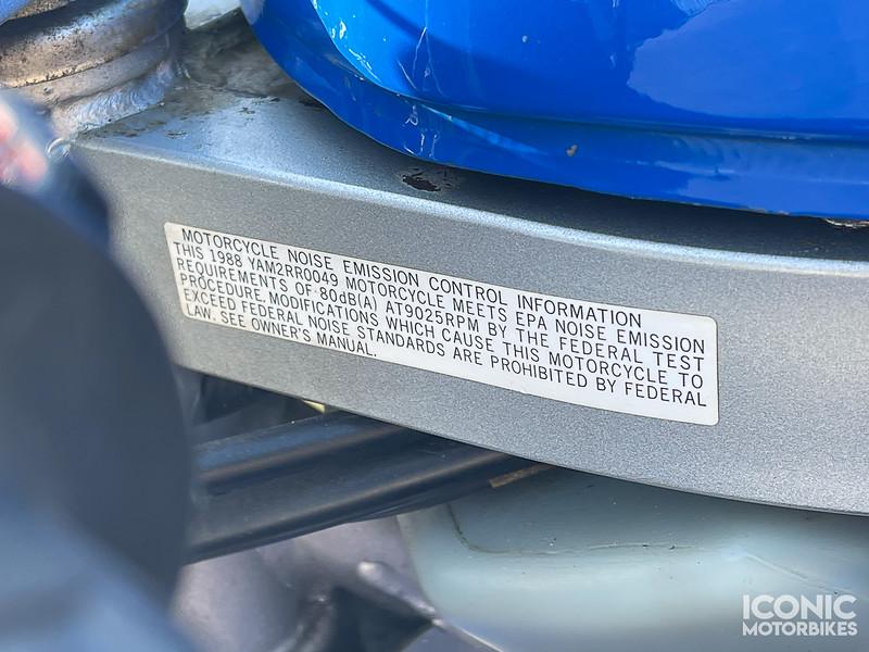 Yamaha YSR50 Extras -  (11)