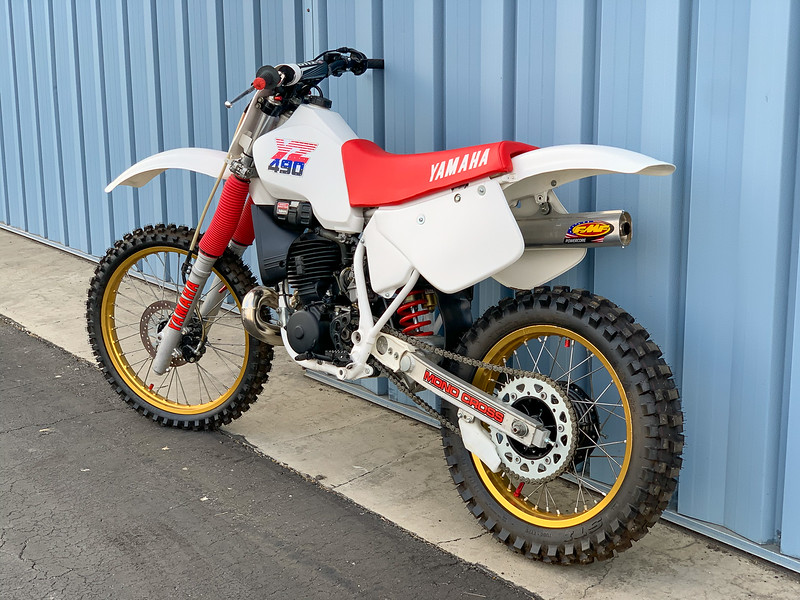 Yamaha YZ490 -  (19)