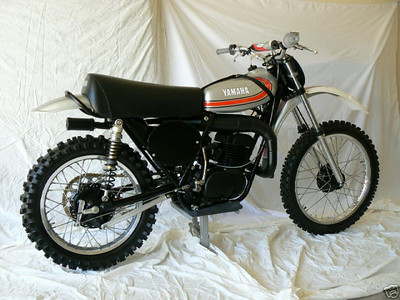 1974 Yamaha YZ250A Hakan Andersson FIM Grand Prix Works Replica The YZ250A's were very expensive and produced in limited quantities with the basic A models selling for twice the price of the 250MX. Only a handful of A model Works Bikes were ever made and even fewer imported into the US. These works bikes were extremely expensive for the fortunate few that could get their hands on one. Check out April 07 Motocross Action magazine....10 most collectable motocross machines. The 74 YZ250A is included in this list.  This is a total professional restoration on a clean low time unmolested numbers matching 431-001201 YZ250A. Following the restoration, the bike was started and run through the gears. It runs, shifts, brakes and handles perfectly. The tank, carb, fuel line were then removed and drained. A new air filter was installed and the bike has been sitting dry on a stand in my game room ever since. Every piece and part, down to the milled and dished titanium nuts and bolts on this bike are new.....EVERYTHING....No expense was spared on this build.  The motor was blueprinted and the cylinder is on the first bore. The only engine parts re-used in the restoration were the bare cases, head and carb. Everything in the motor/transmission is new. All suspension components are new also, swingarm bearings, steering head bearings, bushings, seals, fork springs, etc.  Some of the highlites include: Blueprinted motor...Long rod piston kit (79 YZ 250 piston) higher compression, better performance, more durable...High flow head...Lightweight drilled racing clutch...Trick aluminum clutch actuator arm...PVL Ignition...Ohlins vintage shocks...New polished aluminum (factory original) DID rims...Gloss black powder coated YZ hubs, frame and swingarm...Renthal bars...Billet DNR chain guide...Billet # plate brackets...New correct airbox, inner fender...New seat base, foam and cover...Tank and fender paint/metal is flawless...New high performance brake pads and hardware...New tires, tubes and