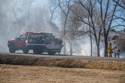 Piney Creek Circle Interface Fire - South Metro Fire Rescue