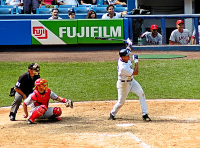 Say what you will about Arod, I'm happy to have him on our team.  This was a solo home run in the bottom of the ninth inning. Copyright 2006 by John M. Cerra
