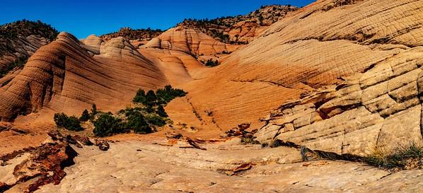 Eroded Sandstone of Yant Flats