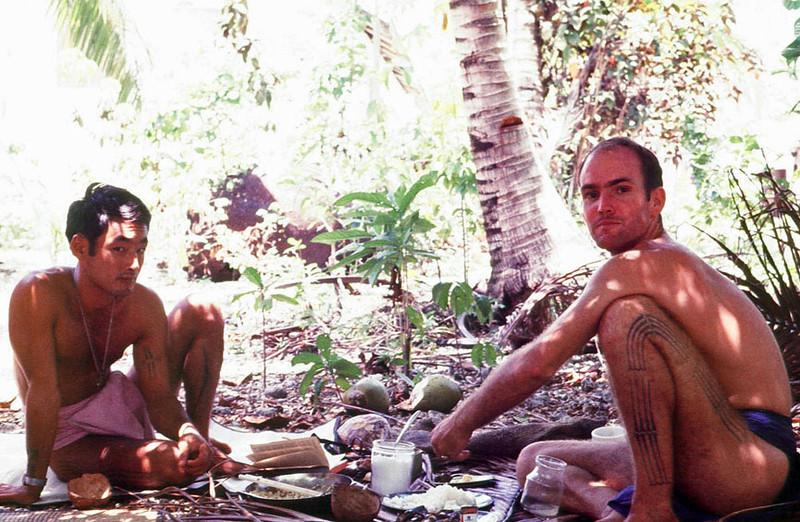PCVs Ken Kuroiwa (left) and Don Copher