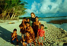 Maura with the best young marine biologists on Woleai