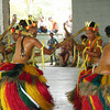 Performing the Rumuu Bamboo Dance at the Community Center in Colonia