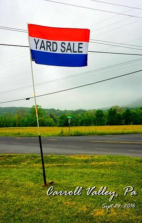 Yard Sale Sept 2016