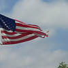 our flag whipping in the breeze