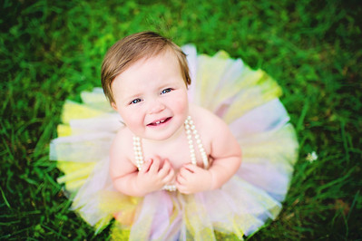 Yardley Ruth 1st Birthday Portraits