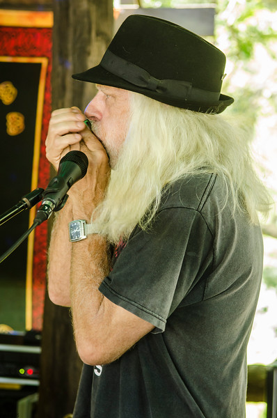 There were a multitude of heavy metal harmonica players
