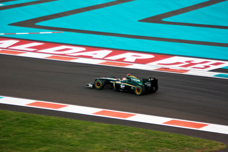 Car 18: Lotus Racing, Jarno Trulli, qualified 19th on the grid.