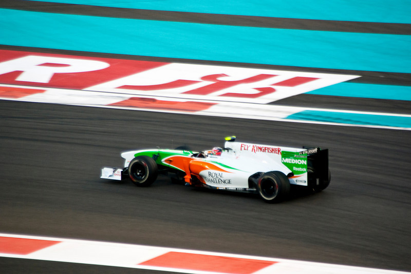 Car 15: Force India F1 Team, Vitantonio Liuzzi, qualified 16th on the grid.