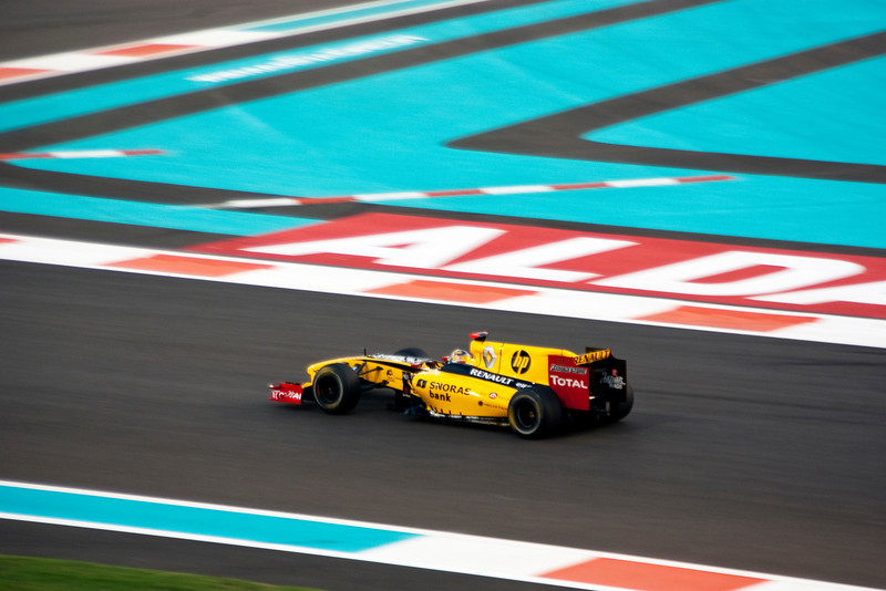 Car 11: Renault F1 Team, Robert Kubica, qualified 9th on the grid.