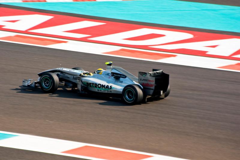 Car 4: Mercedes GP Petronas F1 Team, Nico Rosberg, 8th fastest in practice.