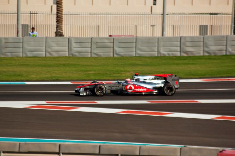Car 1: Vodafone McLaren Mercedes, Jenson Button, 5th fastest in practice.